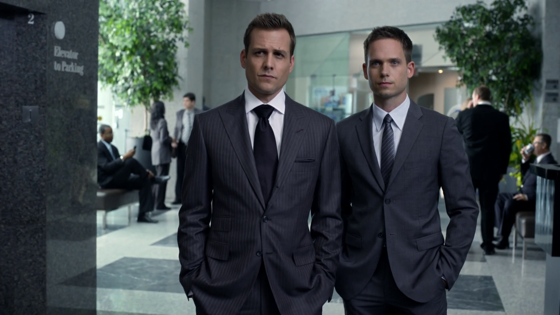 Image - Harvey Specter & Mike Ross (3x06).png