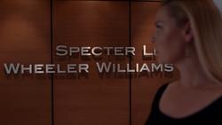 Specter Litt Wheeler Williams (9x02)