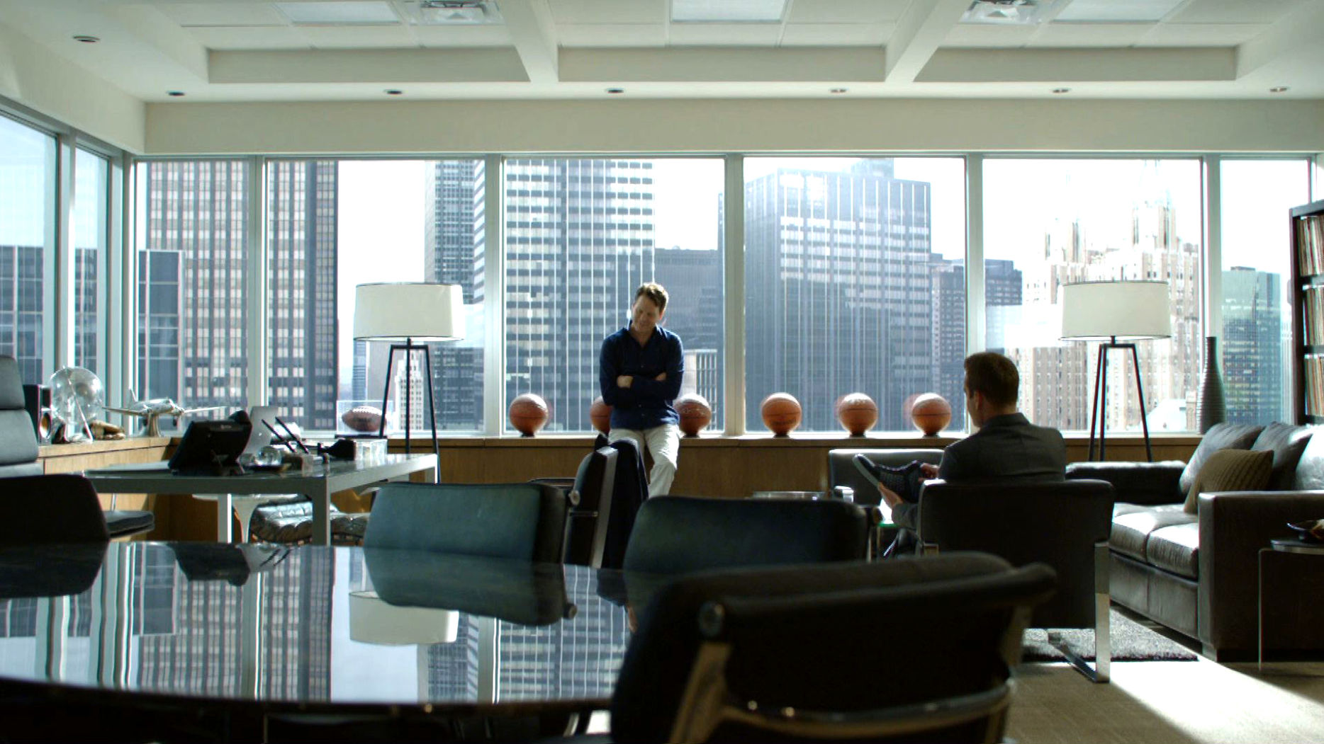 suits harvey specter office. S05E02Promo14 - Teddy Harvey.jpg Suits Harvey Specter Office U