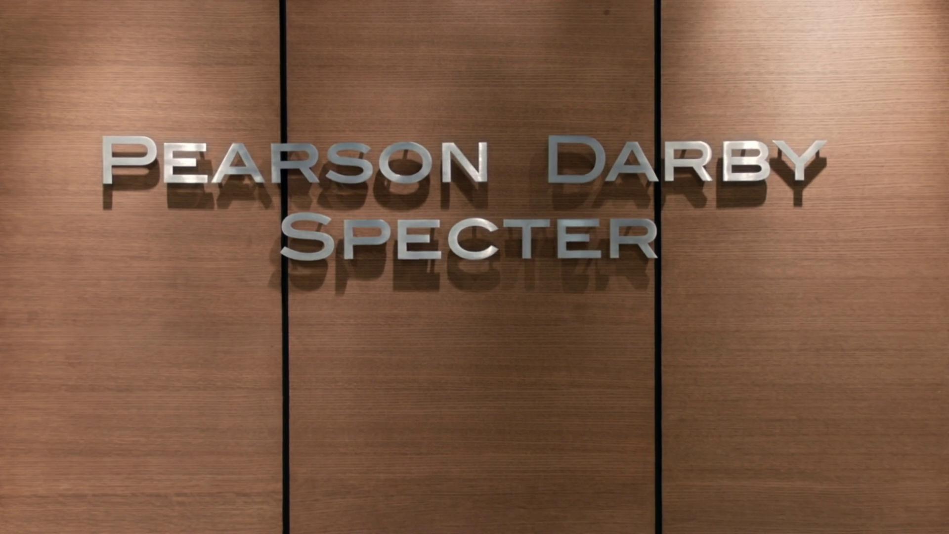 Pearson darby specter suits wiki fandom powered by wikia pearson darby specter wall sign colourmoves