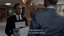 Mike Ross' arrest