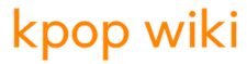 Orange Kpop wiki wordmark