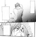 A serious kiss