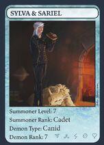 Sylva & Sariel, Character Card 02