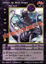 Tiamat, the Black Dragon