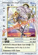 Francessca, the Angel of Swords