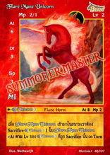 Flare Mane Unicorn
