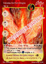 Telepaha, the Flare Dragon