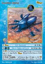 Sapphire Beetle