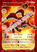 Mansereg, the Fire Dragogriff