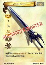 Atimazo Sword