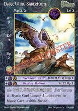 Dark Wing Sabertooth