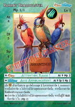 Parrot Broadcaster