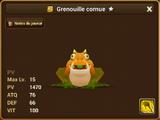 Grenouille Cornue (Vent)