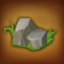 Obstacle Garden Rock