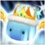 Roi Angemon Bleu Icon