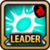 Leader Skill Critical Rate (Low) Fire Icon
