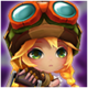 Cannon Girl (Wind) Icon