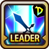 Leader Skill Attack Power (Mid) Dungeon Icon