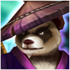 Panda Warrior (Dark) Icon