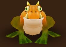Gehörnter Frosch (Wind)