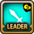 Leader Skill Attack Power (Low) Wind Icon