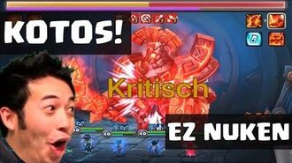 KOTOS HELL! YOLO NUKE Monster runes 🔥 Summoners war German Deutsch APP