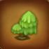 Grüner Wolkenbaum