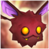 Mischievous Bat (Fire) Icon