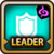 Leader Skill Defense (Low) Dark Icon