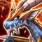 Blue Battle Flying Dragon
