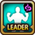 Leader Skill Health Point (Low) Dark Icon