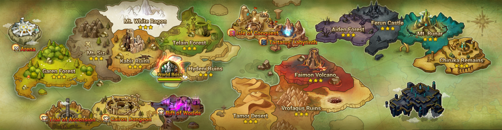 summoners war how to unlock trial of ascension