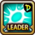 Leader Skill Critical Rate (Low) Dungeon Icon