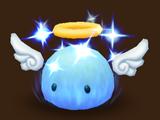 Blaues Angelmon