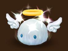 Weißes Angelmon