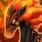 Flame War Horse