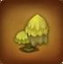 Gelber Wolkenbaum