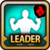 Leader Skill Health Point (Low) Fire Icon