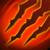 Feurige Klaue Feuer