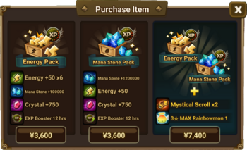 Energy And Mana Stone Pack