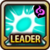 Leader Skill Critical Rate (Low) Dark Icon