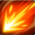Energieball Feuer