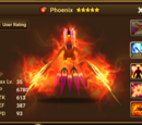 Phoenix (Fire) - Perna/Gallery and trivia