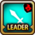 Leader Skill Attack Power (Low) Fire Icon