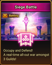 Siege Battle Splash