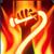Brennende Peitsche (Passiv) Feuer