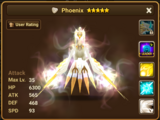 Phoenix (Light) - Eludia/Gallery and trivia
