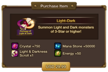 Package of Light & Dark