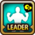 Leader Skill Health Point (Low) Wind Icon